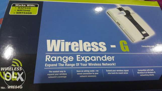 Wireless- G Range Expander (as good as NEW)