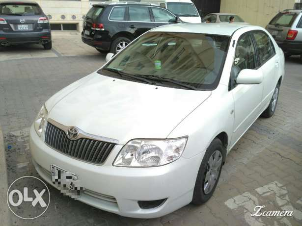 Toyota Corolla 2007 for sell (leaving kuwait)