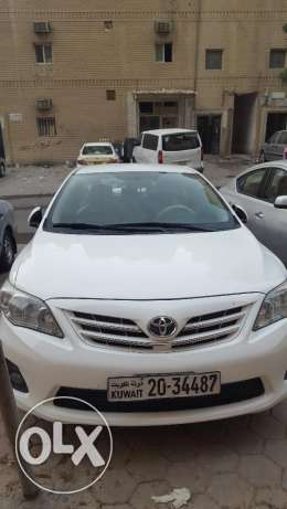 Toyota corolla 1.8 2013 model for sale