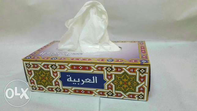 Arabia Tissue Box For sale 28.750kd (250 Box)