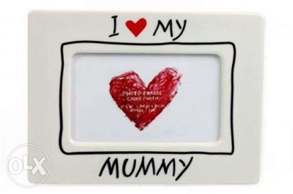 I Love My Mummy Photo Frame