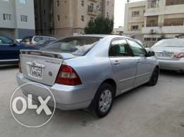 Corolla 2002 for sale