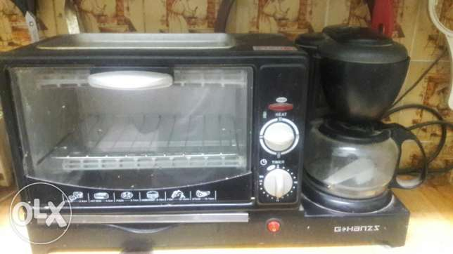 Oven +coffee maker 2 in1