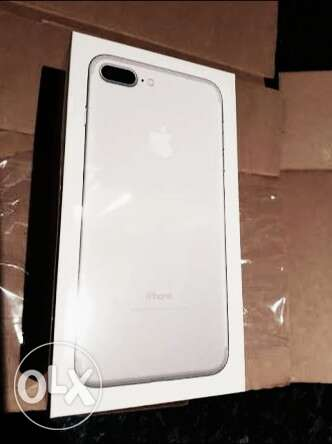 Iphone 7 plus 32 silver new