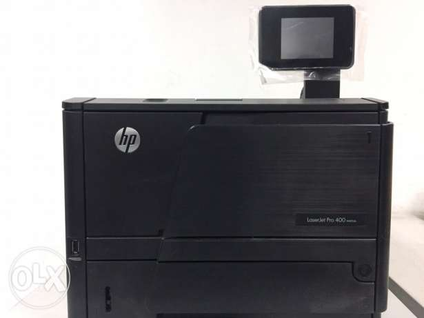 HP 401dn LASERJET Printer (Network LAN, USB port + Free 80A Toner)