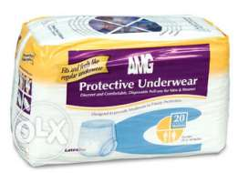 Adult Diapers AMG Ultra-Absorbent Protective Underwear's Sale