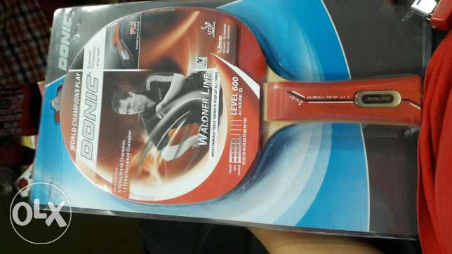 Donic table tennis racket level 600 new