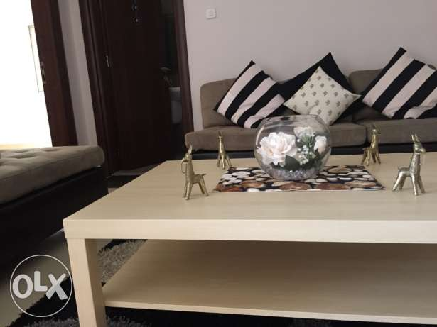 7 seater L shaped couch with table and carpet السالمية -  3