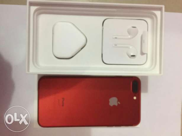 Iphone 7 plus 128 red color used 3 day