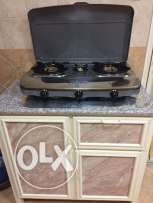 New wansa stove and marble slabe totally new