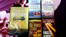 DAN BROWN books for sale!