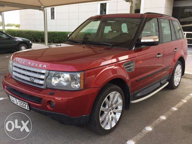 rang Rover sport super charge بيان -  1