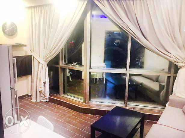 Brand new small one bedroom serviced apartment, Salmiya