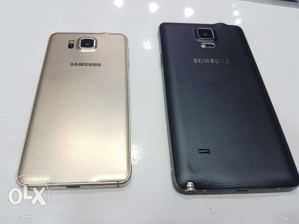 For sale note 4 and galaxy alpha