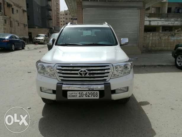 Toyota land cruiser 2011 gxr