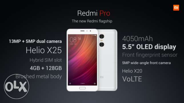 Xiaomi redmi pro Exclusive edition 128 Gb
