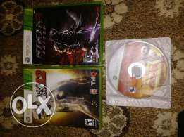 Xbox 360 3 games only 10 kd