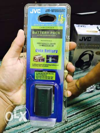 JVC camcorder battery pack