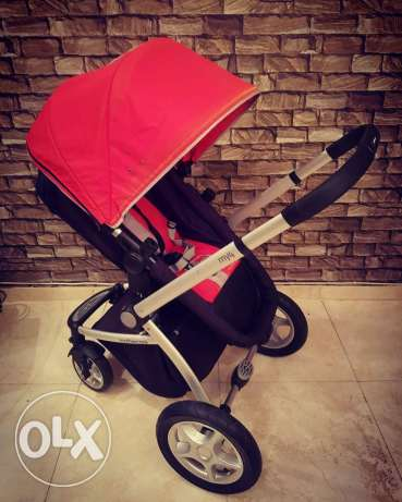 Stroller mother care my4 and care seat maxi cosi