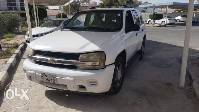Chevrolet Trailblazer 4200cc White 2007