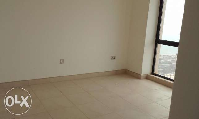 Two bedroom semi furnished sea view apartment in Salmiya