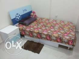 Bed,Leather Sofa,Vaccum Cleaner and Fridge are available for Sale