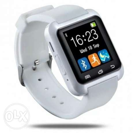 "New MTS001 1.44"" TFT Screen Bluetooth V3.0 Smart Watch Phone - White"