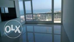 3 bedroom sea view flat with balcony in Salmiya
