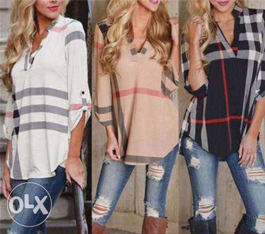 Fashion Women's Blouse Loose Long