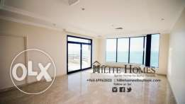 Sea view big 3 bedroom apartment for rent in Salmiya KD 1000