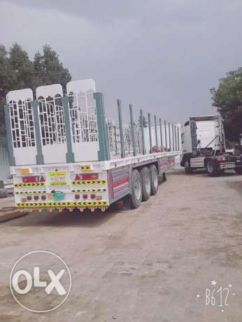volvo unit 2002 model with 45 feet trailer for sale