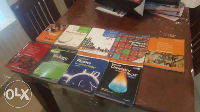 For sell igcse books