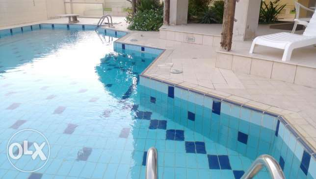 Huge sea view 3 bedroom floor apartment in Shaab kd 1350