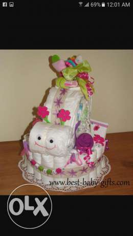 Nappy Cake's For New Born Baby..