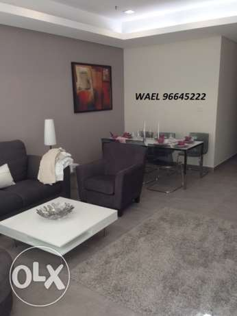 Awesome sea-view furnished 3 bedrooms apartment in Salmiya