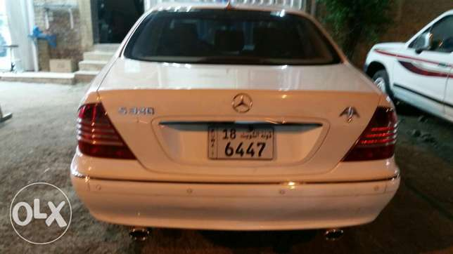 Mercedes S320 in excellent condition (interior + exterior)