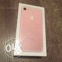 Iphone 7plus 256 gb rose gold for sale zain warranty sealed pack