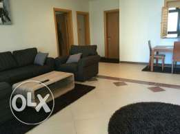 Furnished huge 2 bedroom. Flat for kwd 900