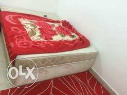 Box type double bed for sale