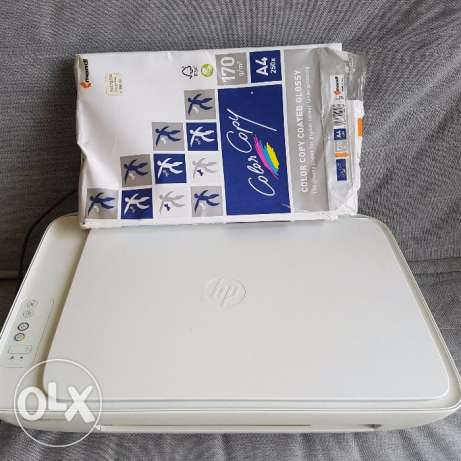 HP printer/scanner/ copy with high gloss paper