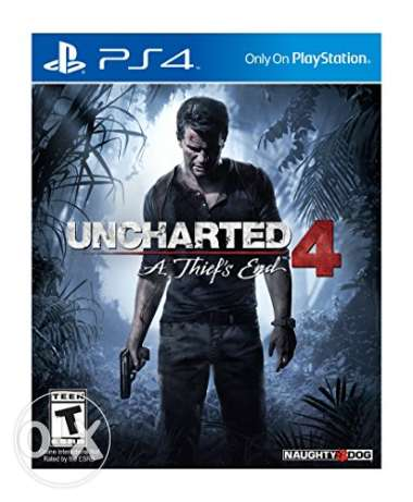PS4 GAMES (Uncharted 4 & Assasins Creed - Syndicate)