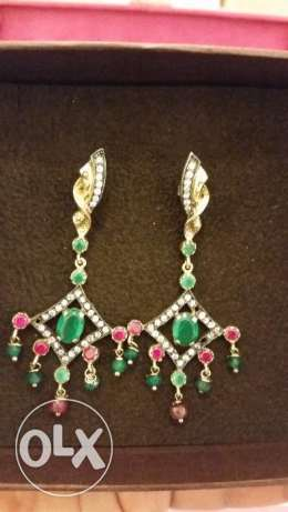 925 silver earing(turkish desing)
