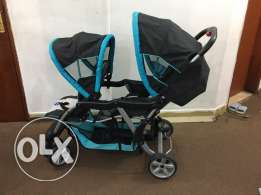 Twin Baby Stroller (Juniors)