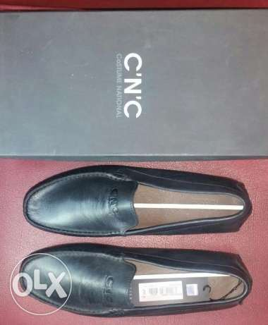 cnc 100% original loafers shoe c.n.c 100٪ الأحذية الأصلية