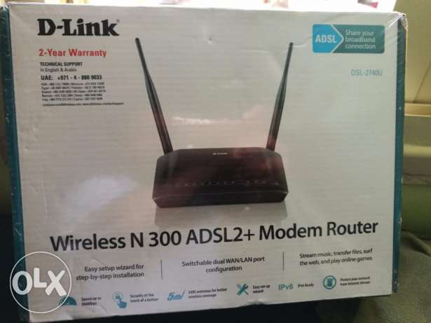 brand new wireless n 300 adsl 2 modem router