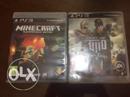 mincraft and army of two