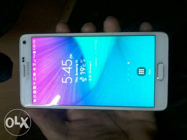 Samsung Galaxy note 4 used phone only phone