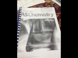 Edexcel AS Chemistry Unit 1 for sale