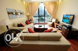 One bedroom serviced apartment for rent in Jabriya-KD 550.