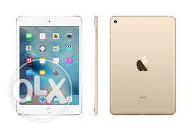 New APPLE iPad Mini 4 7.9-inch 32GB Wi-Fi Only Tablet - Gold